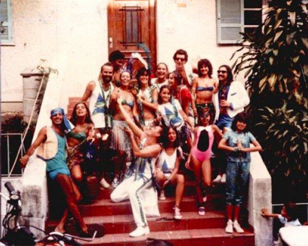 A primeira (e pequena) formação do Suvaco, em 1986... ©Divulgação