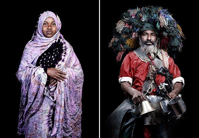 Artista explora a identidade do povo marroquino com retratos íntimos