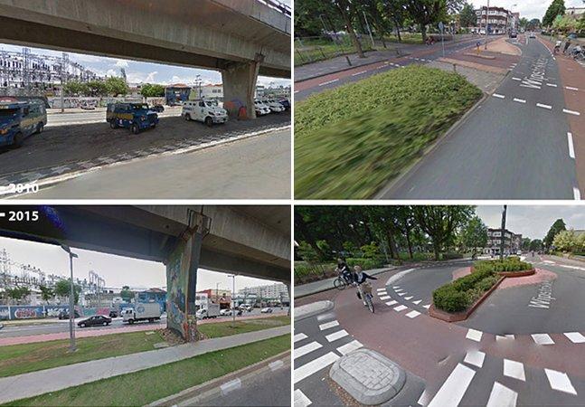 Antes e Depois: projeto mostra as mudanças em espaços públicos que receberam intervenções