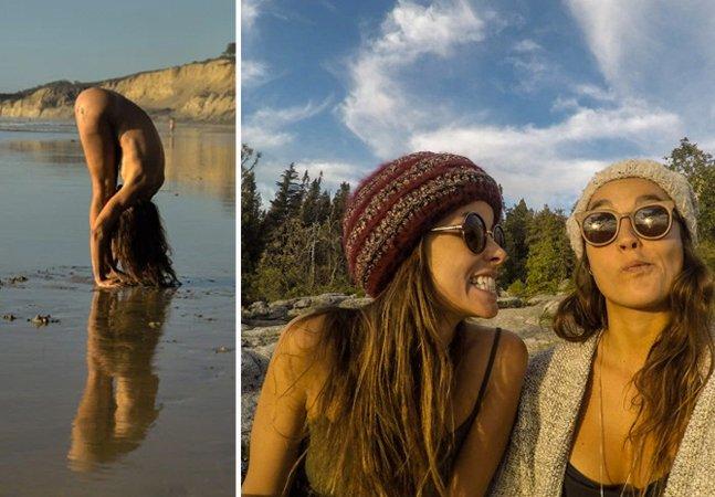 Brasileiras criam projeto fotográfico  que tem a água, a natureza, a nudez  e a mulher como protagonistas