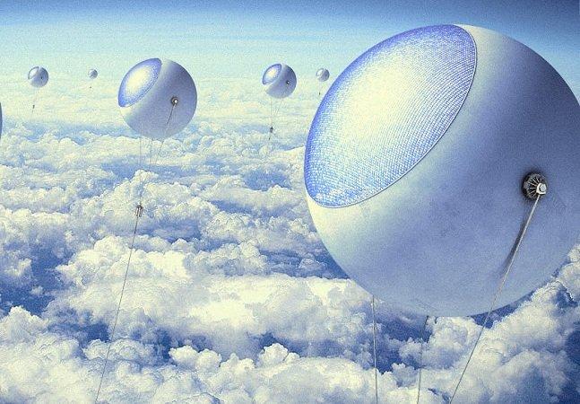 Balões podem ser a solução  para garantir energia solar  independente do clima
