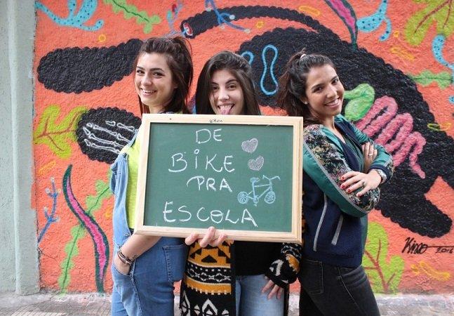 Estudantes criam projeto que  doa bicicletas para crianças  quilombolas irem para a escola