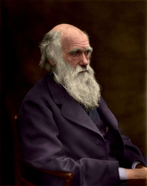 O naturalista inglês Charles Darwin