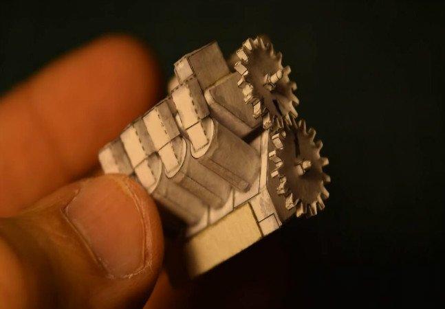 Incrível: engenheiro cria motores de papel que realmente funcionam!