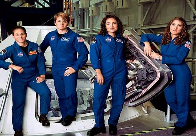 Metade da nova equipe da NASA  é composta por mulheres;  e isso é maravilhoso