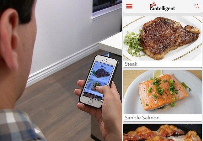 Esta frigideira inteligente  vai te ensinar a cozinhar  qualquer tipo de alimento