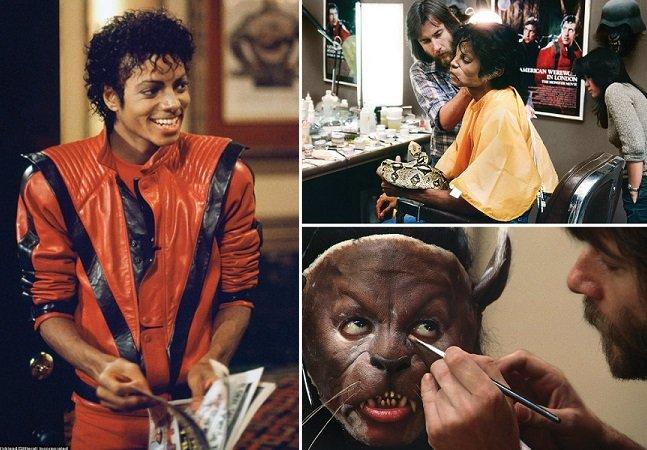 """Série de fotos rara mostra bastidores da gravação do famoso """"Thriller"""" de Michael Jackson"""