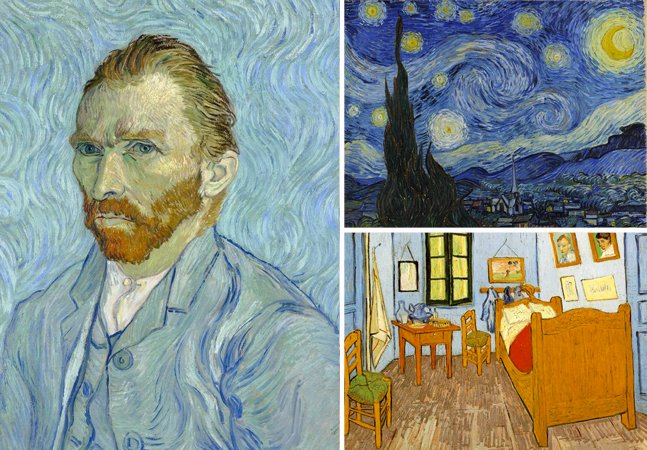 Para tudo: São Paulo recebe exposição sobre a obra de Van Gogh!