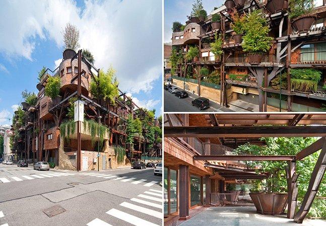 A incrível casa na árvore urbana na Itália que protege o ambiente e os seus moradores