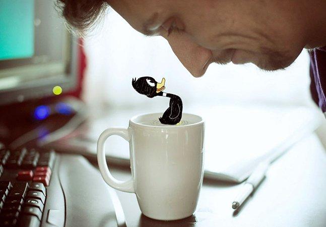Fotógrafo encontra forma criativa de combater os dias de tédio