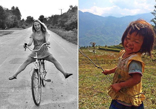 Brasileira viaja pelo mundo voluntariando e cria projeto que incentiva viagens com propósito