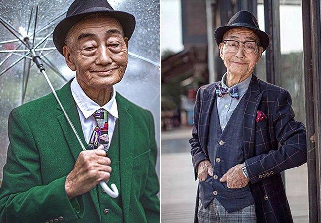 Fazendeiro de 85 anos vira modelo fashion pelas mãos e lentes de seu neto