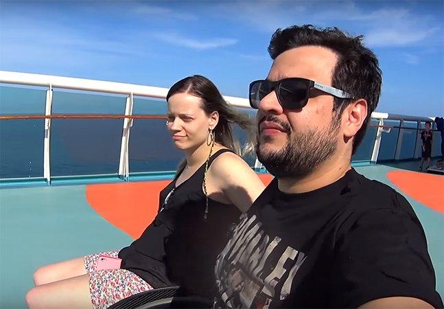Casal brasileiro cria canal para mostrar como o cotidiano de cadeirantes é tão legal quanto o seu