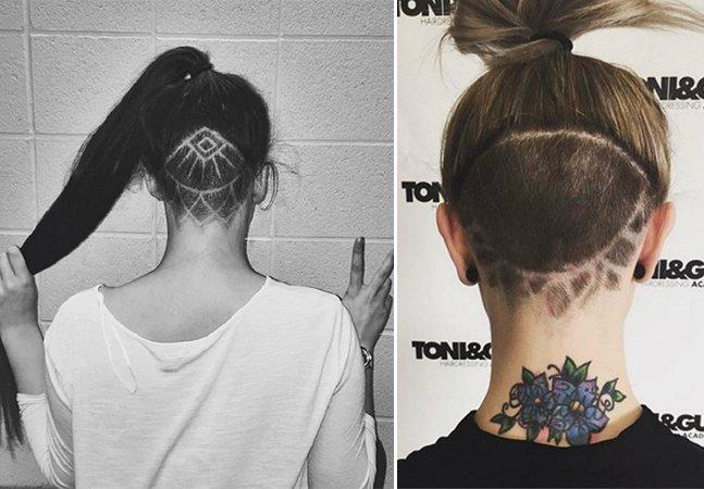 Conheça a tendência das tatuagens no cabelo que está fazendo sucesso na internet