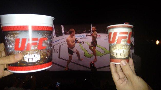 Cerveja, pipoca e telona: o UFC no cinema