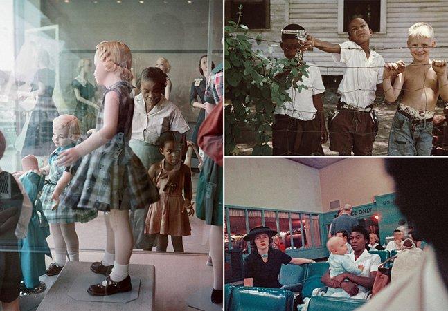 Série de fotos histórica escancara o racismo nos EUA da década de 1950