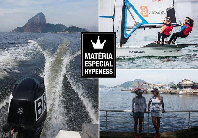 Um dia na vida de duas esperanças olímpicas do Brasil, que fizeram do mar seu escritório