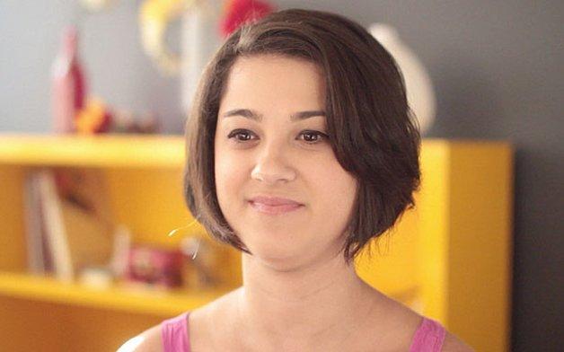 Rafaella, em cena do documentário © Youtube