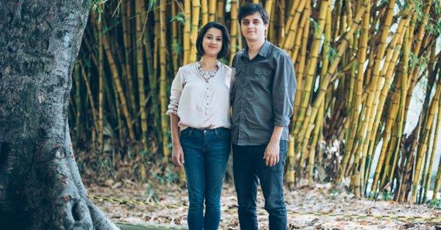 O casal de diretores, Rafaella e Fabricio. Foto © Eliza Guerra