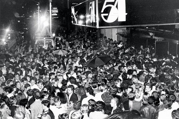 o Studio 54, símbolo da febre das boates que tomou conta dos anos 1970