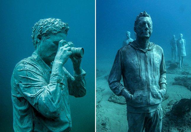Conheça o primeiro museu de arte submerso da Europa