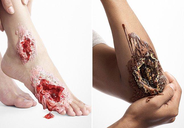 Designer usa criatividade para alertar para o que os doces podem fazer com pessoas com diabetes