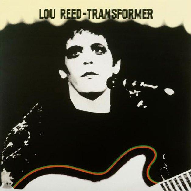 os discos Ziggy Stardust e Transformer, de Bowie e Lou Reed