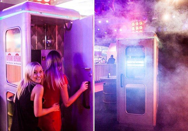 A menor balada do mundo fica em Berlim e é do tamanho de uma cabine telefônica