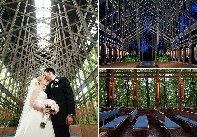 A capela sustentável que realiza casamentos em meio à natureza