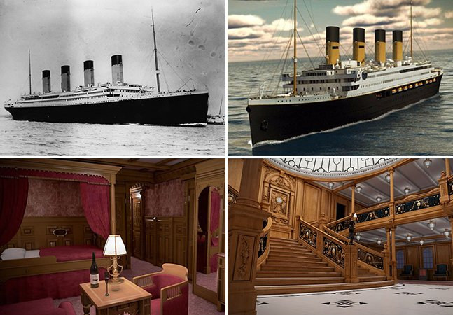 Uma viagem ao interior da réplica do Titanic, que estará pronta a navegar em 2018