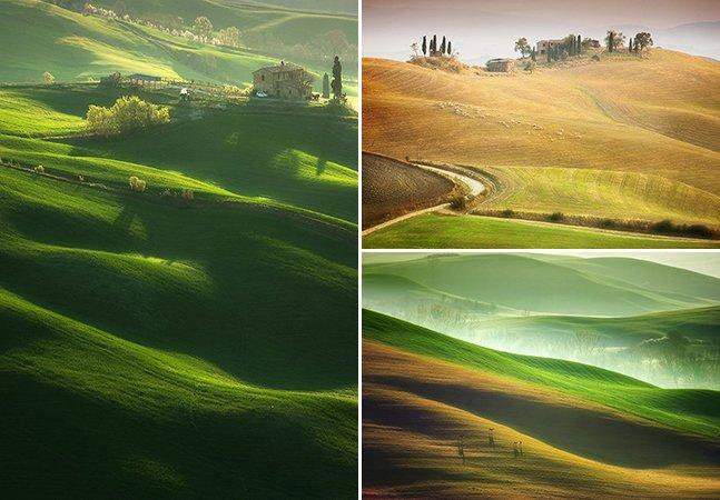 Essas fotografias da Toscana mais parecem pinturas