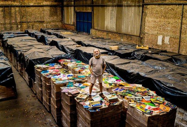 Zero Freitas, o brasileiro dono de uma das maiores coleções do mundo