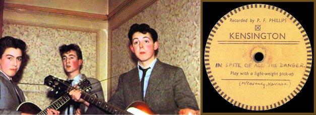 Considerado o disco mais raro do mundo, a cópia única da primeira gravação dos Beatles (quando ainda se chamavam Quarrymen) é avaliada em quase um milhão de reais
