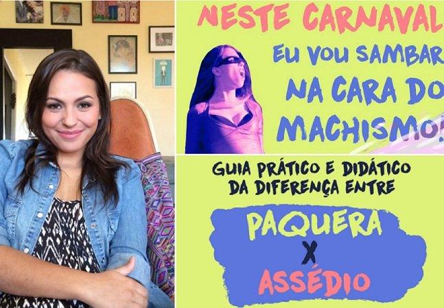 Guia Didático ensina a diferença  entre paquera e assédio no Carnaval