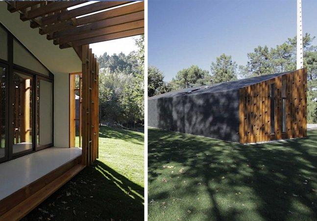 Veja como um grupo de arquitetos ergueu essa casa incrível em apenas 3 dias