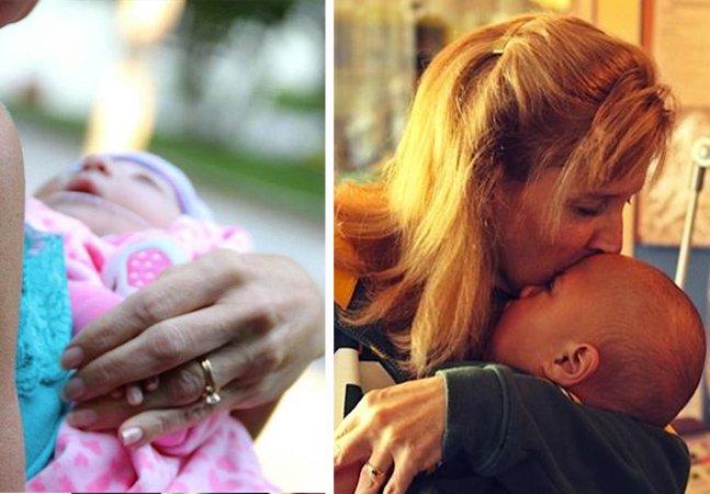 Esta enfermeira dedica sua vida a adotar bebês com doenças terminais