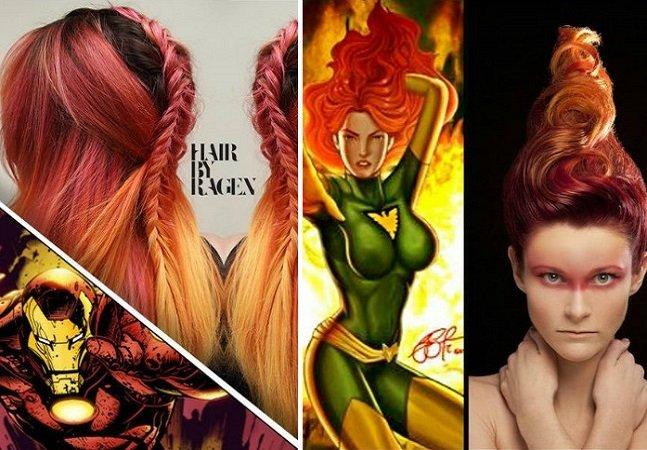 10 penteados incríveis inspirados  em super-heróis e vilões