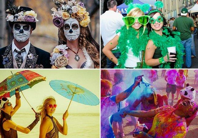 7 festas de rua pelo mundo que você precisa conhecer