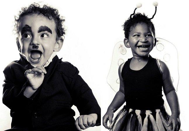 Série de fotos encantadora coloca crianças na folia do Carnaval