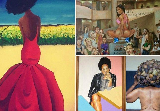 Exposição combate estereótipos relacionados ao corpo das mulheres negras