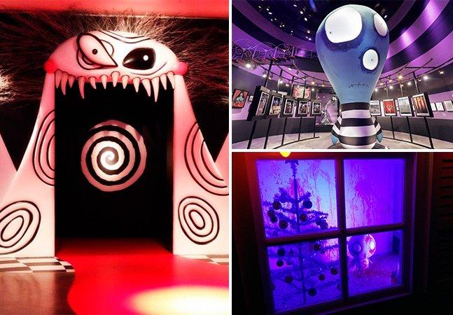 Exposição 'O Mundo de Tim Burton' abre em SP com retrospectiva de sua carreira