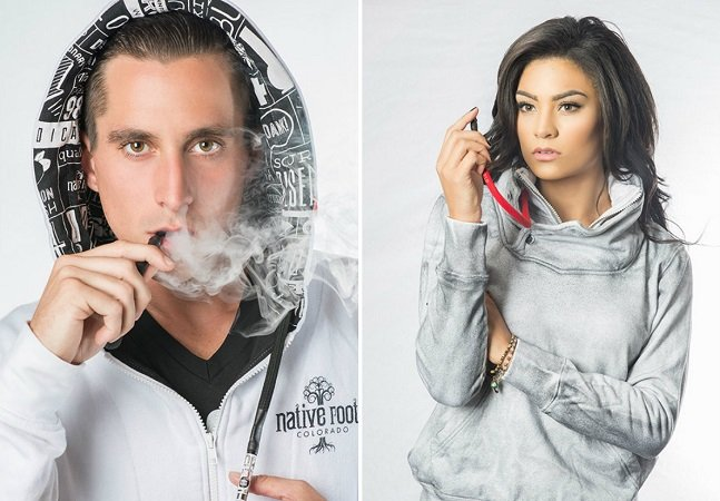 Estas roupas permitem fumar maconha de uma maneira mais discreta