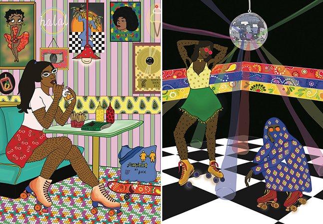 Artista cria série de ilustrações que questionam a obrigação de retirar pelos femininos
