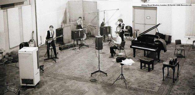 Os estúdios da EMI am Abbey Road
