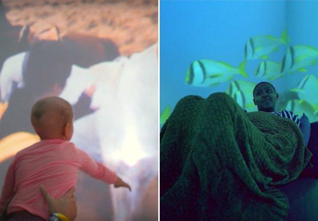 Realidade virtual leva crianças internadas para explorar o mundo em incríveis aventuras