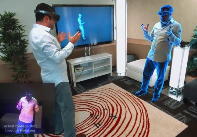 O futuro é agora: Microsoft lança óculos que permite o teletransporte virtual em tempo real