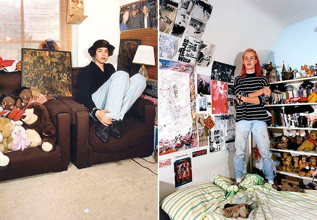 Série de fotos retrata quartos de adolescentes que cresceram nos anos 1990