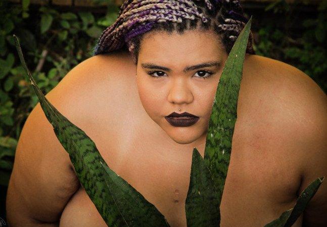 Ensaio fotográfico qustiona  padrões exaltando a  beleza da mulher negra e gorda
