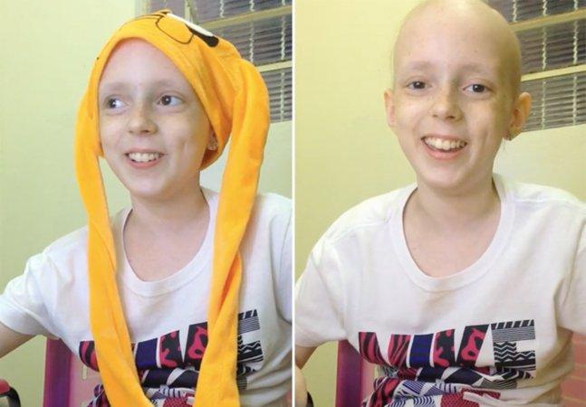 Menina se recuperando de câncer cria canal no YouTube e faz sucesso com seu primeiro vídeo