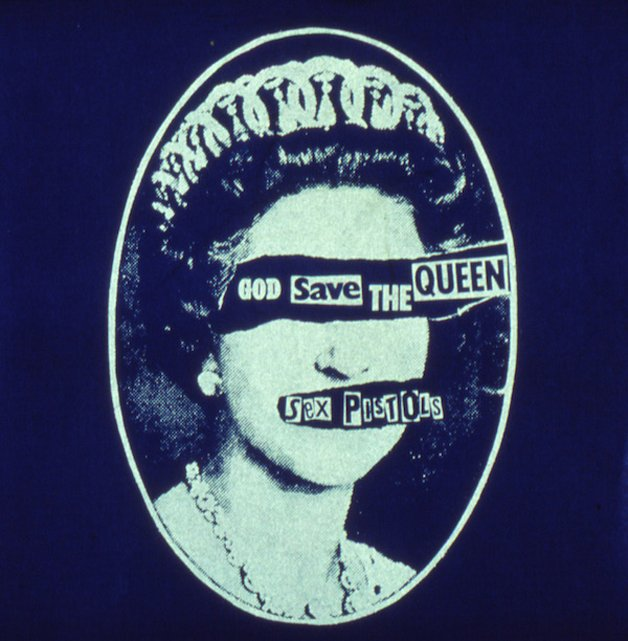 Capa do compacto de 'God Save The Queen'